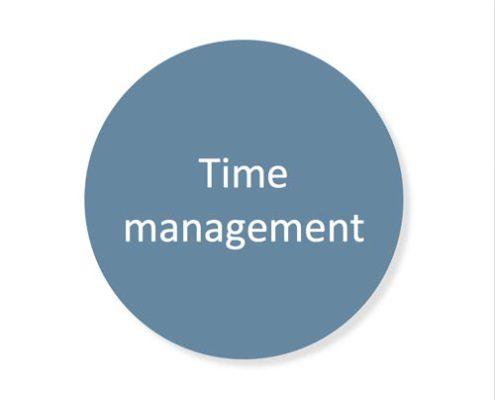 Training time management
