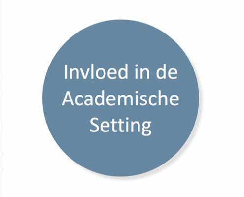 Training invloed in de academische setting