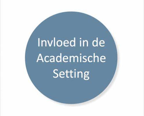 Training invloed in de academische setting